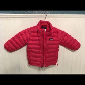 Patagonia Pink Down Sweater 12M